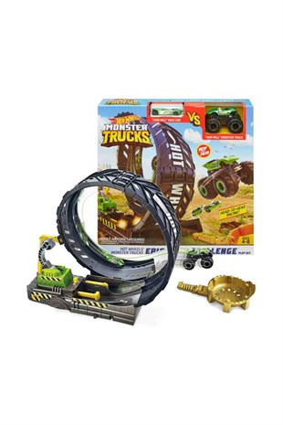 Hot Wheels Monster Trucks Efsane Çember Aksiyonu