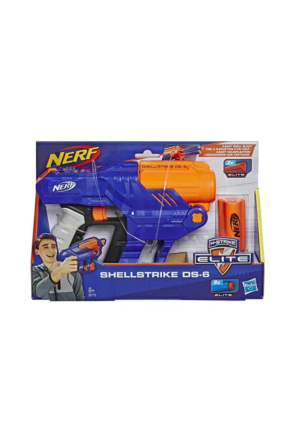 Nerf Elite Shellstrike DS-6