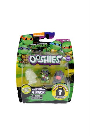 Ooshies Tmnt Turtles 4 Lü Paket
