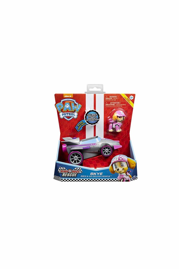 Paw Patrol Marshall Race & Deluxe Vehicle