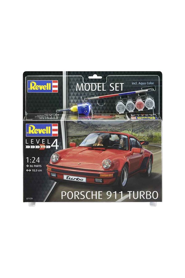 Revell  Porsche 911 Turbo Model Set Araba